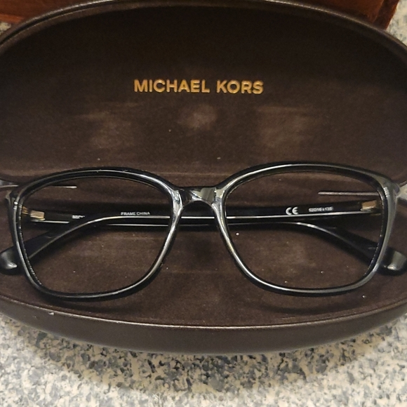 Michael kors eye glass frames with matching case
